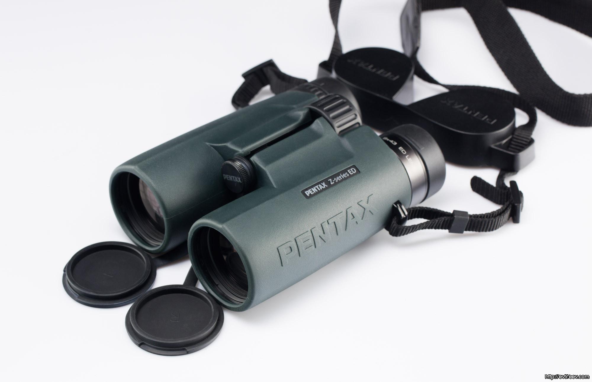 Обзор бинокля PENTAX ZD 8x43 ED