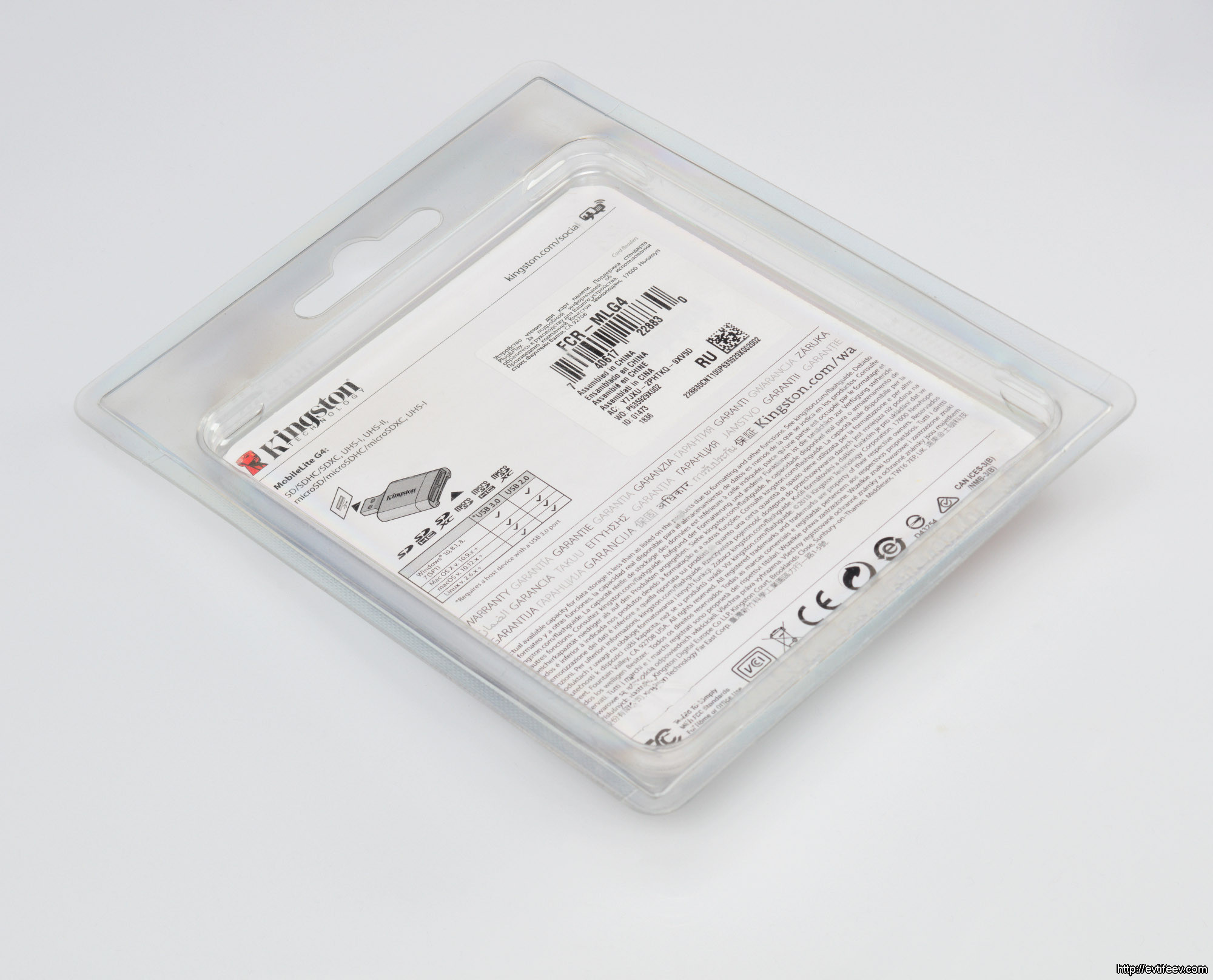 Обзор карт памяти для фотографа на примере Kingston Canvas React