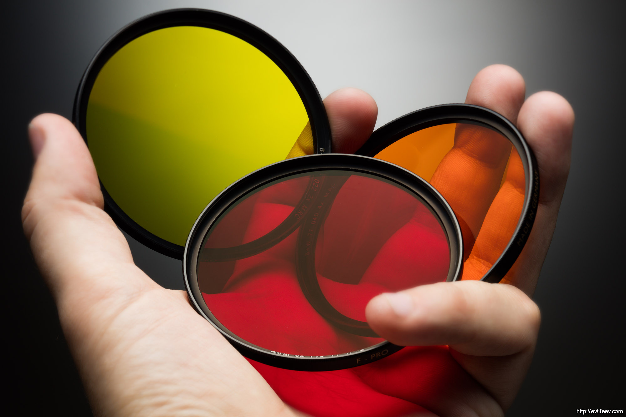 Контрастные (цветные) светофильтры B+W