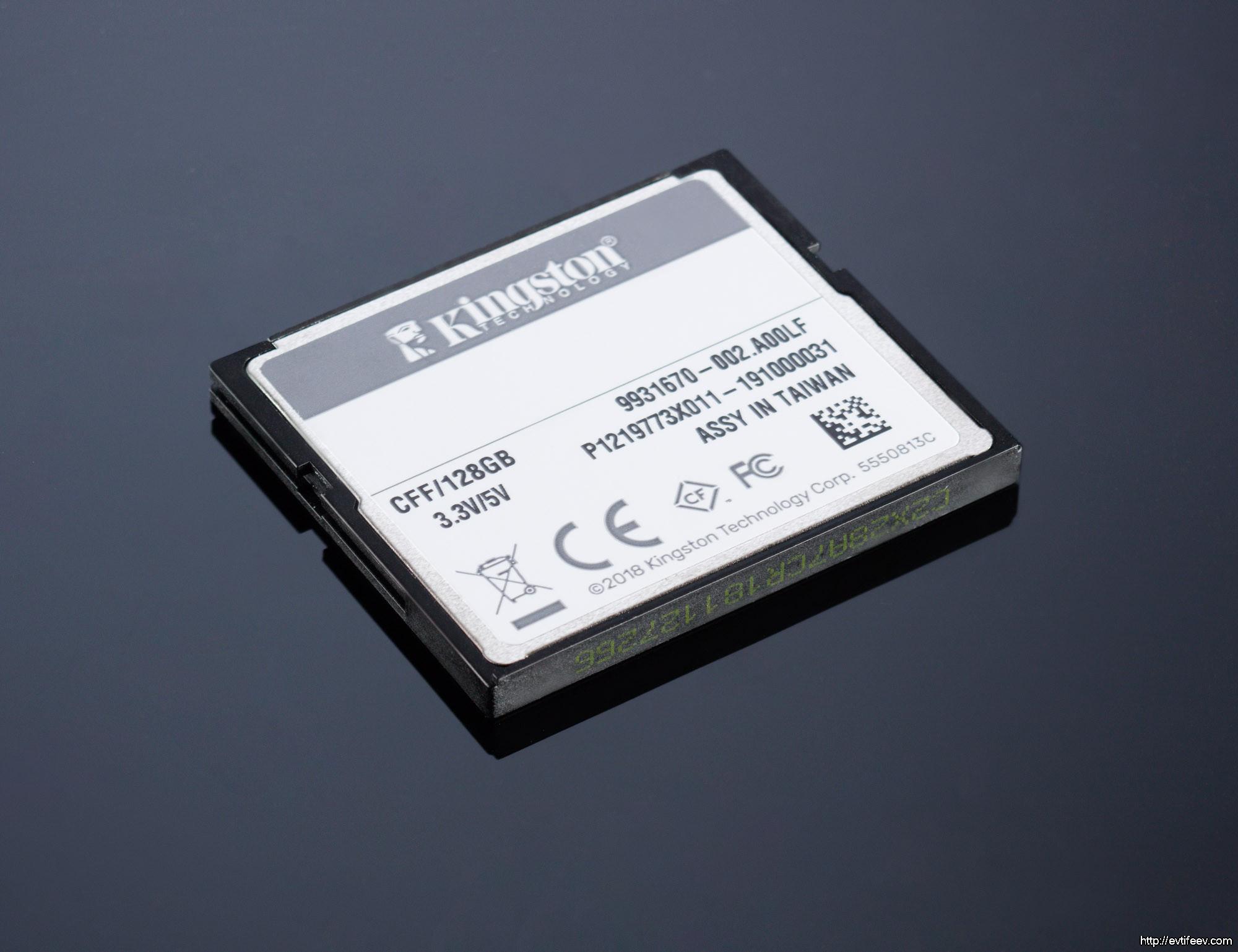 Обзор карт памяти для фотографа на примере Kingston Canvas Focus CompactFlash