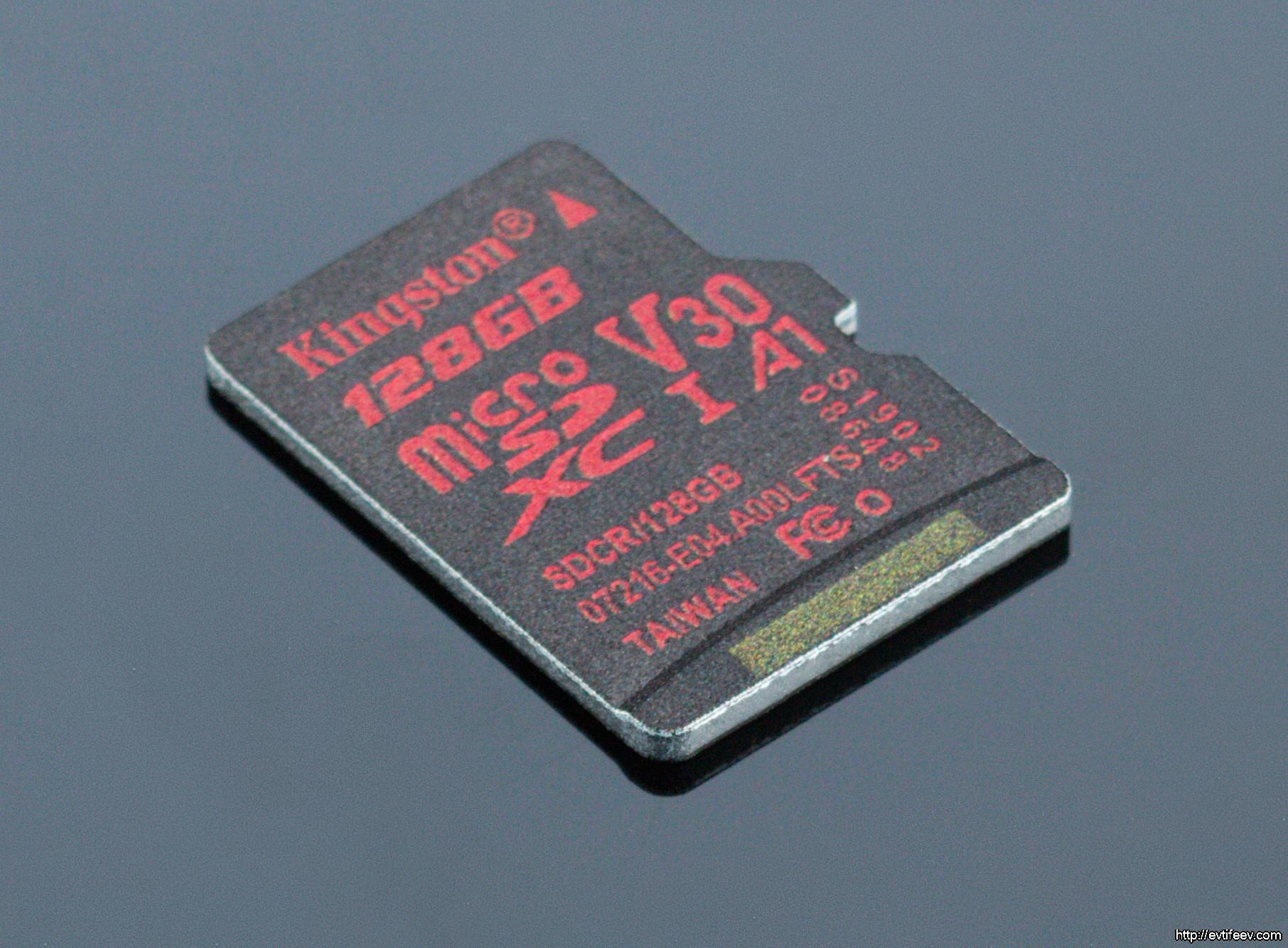 Обзор карт памяти для фотографа / путешественника на примере Kingston microSDXC Canvas React