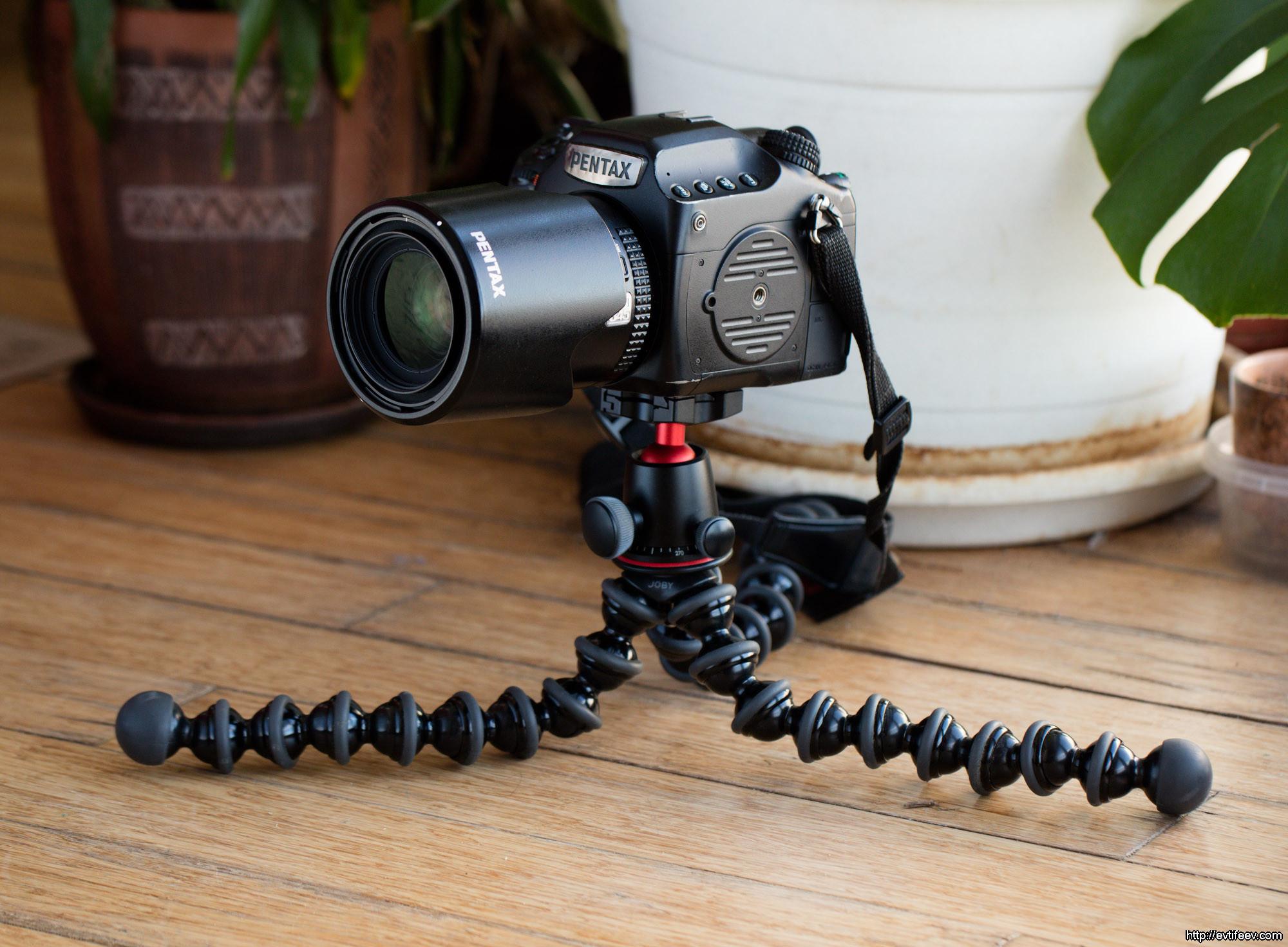 Обзор штатива Joby GorillaPod 5K Kit