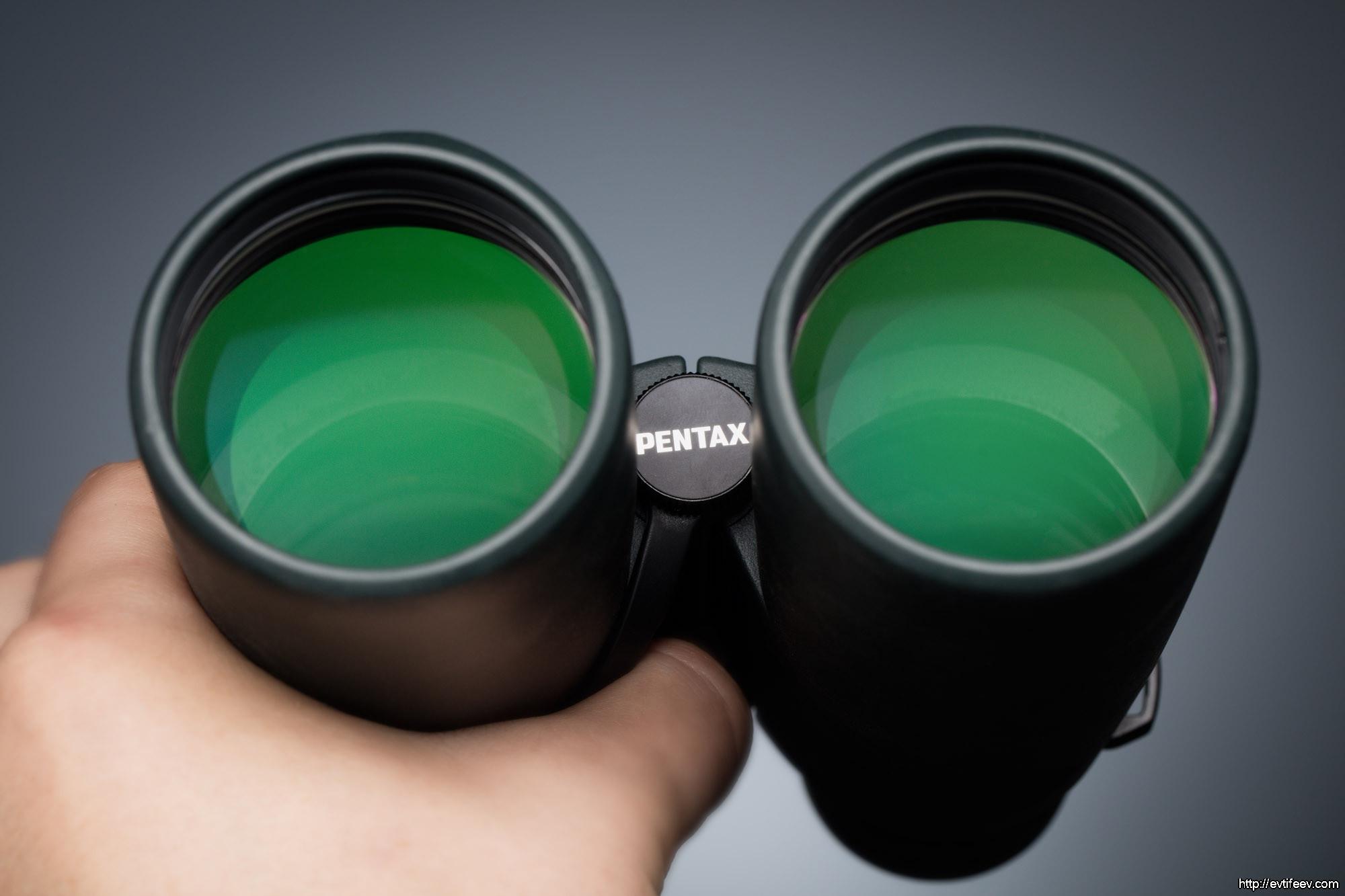 Обзор бинокля PENTAX ZD 10×50 WP