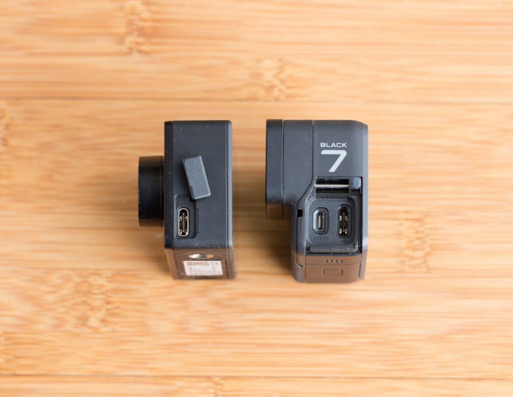 Экшенкамеры: GoPro hero 7 black vs  Xiaomi Yi 4K+. Впечатления от работы, сравнение и возможные проблемы