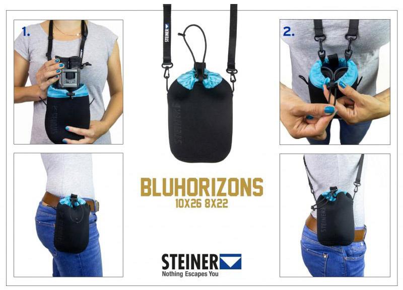 Обзор бинокля Steiner Bluhorizons 8x22