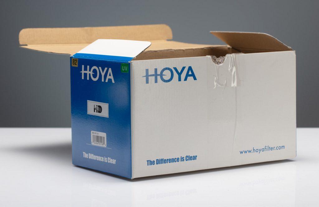 Виньетирование светофильтров HOYA