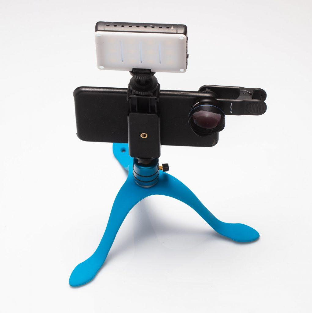 Про фотографию на смартфон более серьезно - объективы, штатив, свет