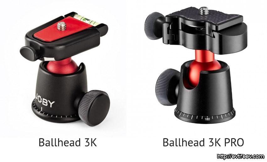 Отличие Gorillapod 3K от Gorillapod 3K PRO