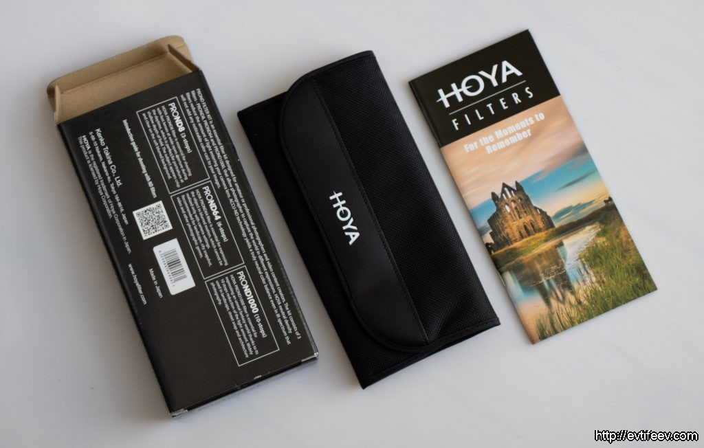 Наборы затемняющих светофильтров от HOYA