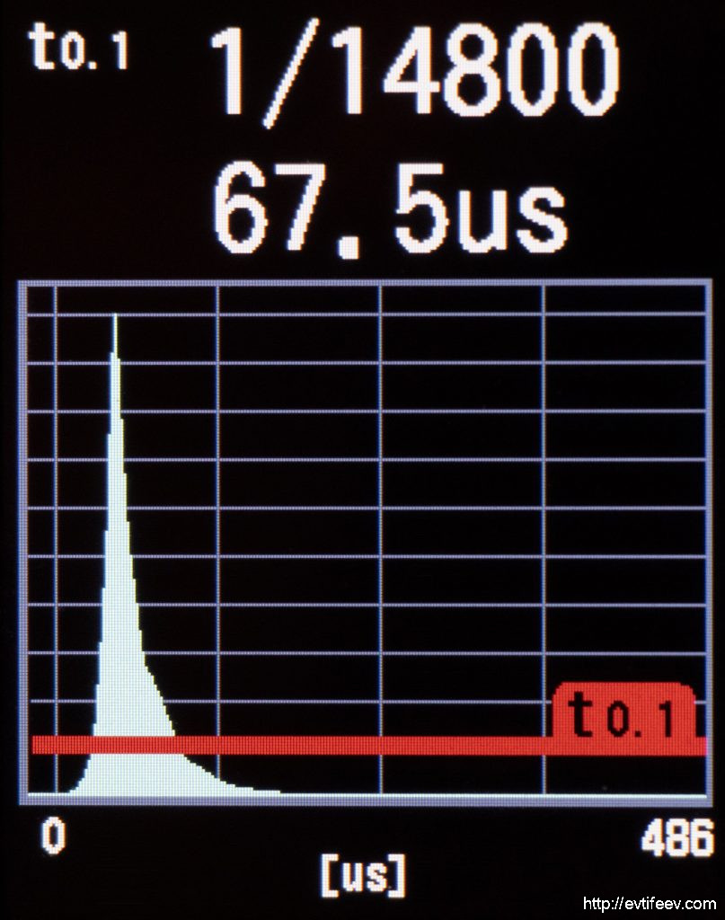 Profoto B10X, Режим Freeze, минимальная мощность (1)