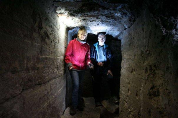Длинные туннели в подземном доте