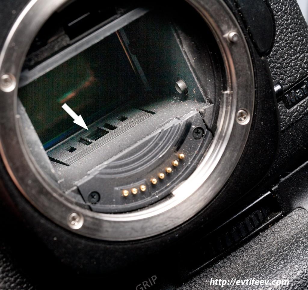 Зачем чистить матрицу в зеркальном фотоаппарате